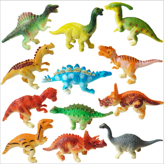 6pcs/set 6cm PVC Dinosaur Action Figure Toy Kids Education Toy Children birthday christmas Gift free shipping lps toy pet shop cute beach coconut trees and crabs action figure pvc lps toys for children birthday christmas gift
