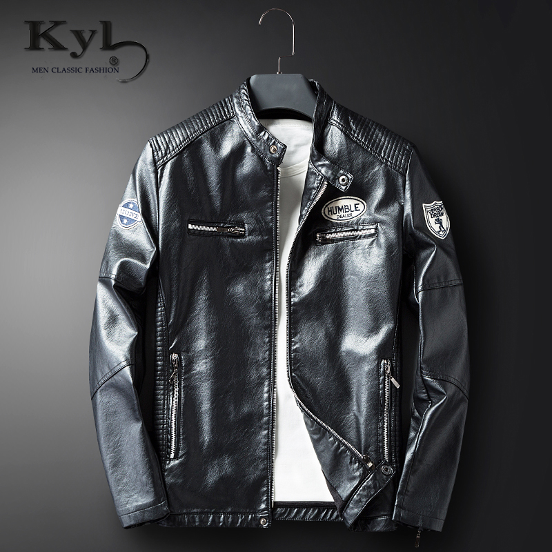 2017 Men Leather Jackets Pu Leather Jaqueta Masculinas Inverno Couro coat Men Jaquetas De Couro Mens Winter Leather Jacket