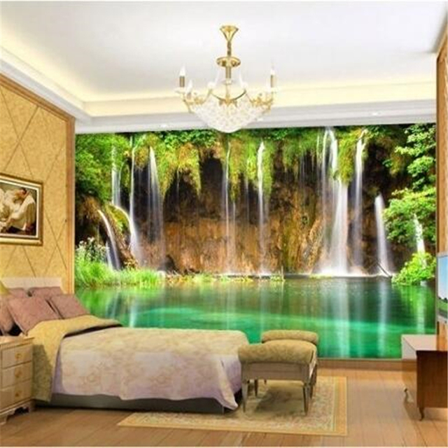 Tv background wall paper customize quickly hd mural 3d wallpaper