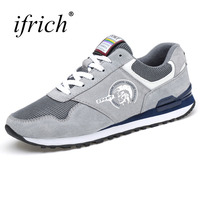 2017 Best Selling Men Running Shoes Spring Autumn Walking Jogging Trainers Comfortable Athletic Shoes Men Sneakers