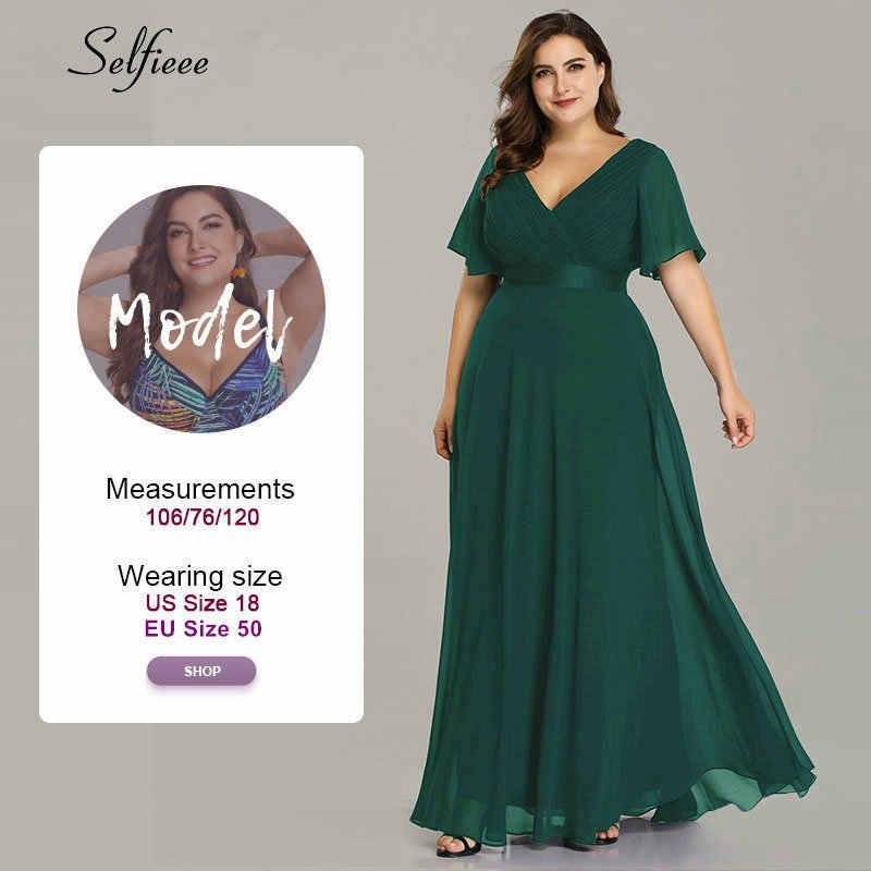 Длинное платье большого размера для свадебной вечеринки для женщин 2019, халат Femme, Новое Элегантное летнее пляжное платье в стиле бохо с v-образным вырезом и короткими рукавами