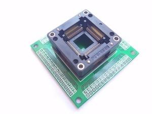 Image 2 - Trasporto libero TQFP64 QFP64 LQFP64 A 64 adattatore socket passo 0.8mm per ATmega64 ATmega128 ATmega128AU tl866cs tl866a AVR mcu