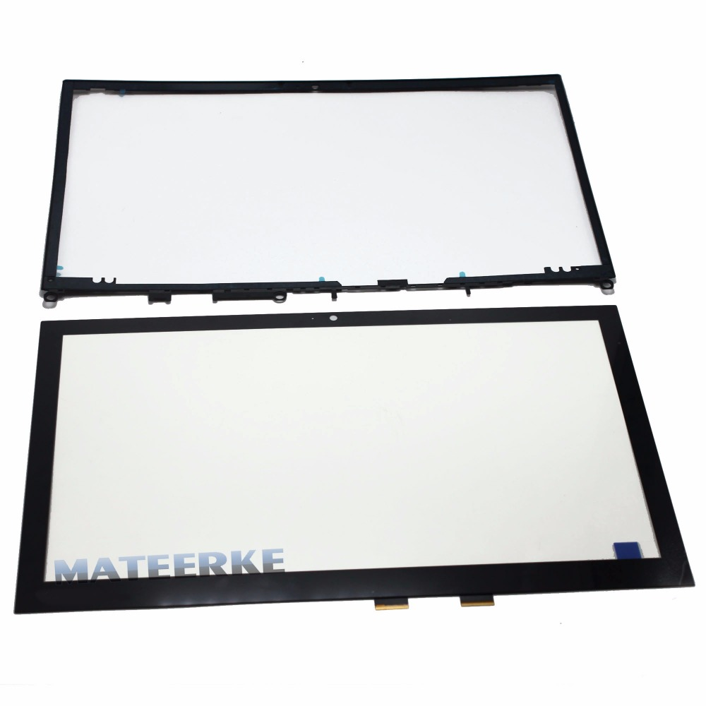 100% Original New For Toshiba P55W-C P55W-C5200D Laptop Touch Digitizer Glass Screen Replacement with Frame new 10 toshiba encore 2 wt10 touch screen digitizer glass replacement