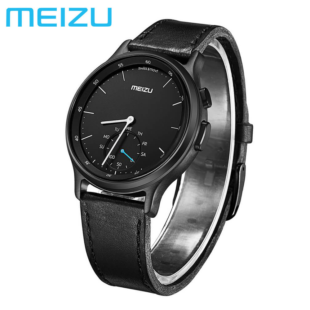 Original Meizu MIX Smartwatch Bluetooth Pedometer Calories Consumption SMS Reminder Replaceable Strap For Android/iOS Waterproof
