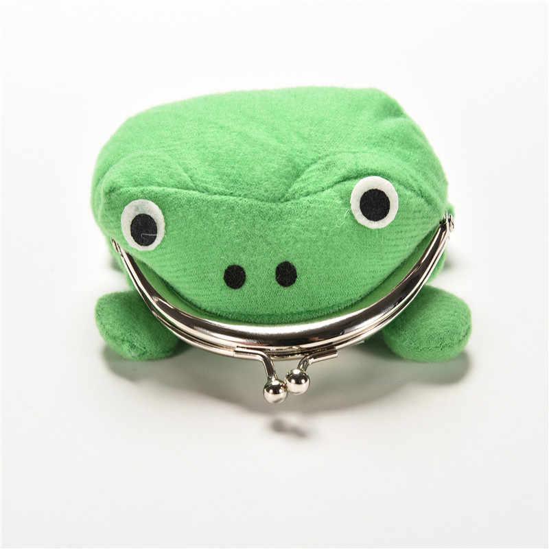 Хит продаж, кошелек в виде лягушки, аниме, мультфильм, кошелек для монет, манга, фланелевый кошелек, милый кошелек, Наруто, монетница, 1 шт.