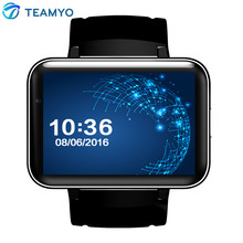 "DM98 Smart Watch Android Phone 2.2"" Full View HD Screen Android 4.4 OS 3G Smartwatch Phone MTK6572 Dual Core 1.2GHz GPS WIFI"