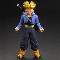 NEW Original Dragon Ball Z Action Figure Trunks Vegeta 19cm PVC Model Dragonball Figures Collection Kids