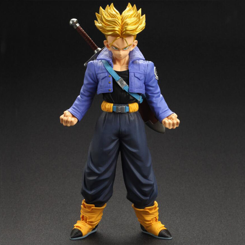 NEW Original Dragon Ball Z Action Figure Trunks Vegeta 19cm PVC Model Dragonball Figures Collection Kids Toys dragon ball z black vegeta trunks pvc action figure collectible model toy super big size 44cm 40cm