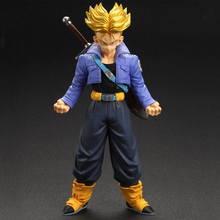 NEW Original Dragon Ball Z Action Figure Trunks Vegeta 19cm PVC Model Dragonball Figures Collection Kids Toys
