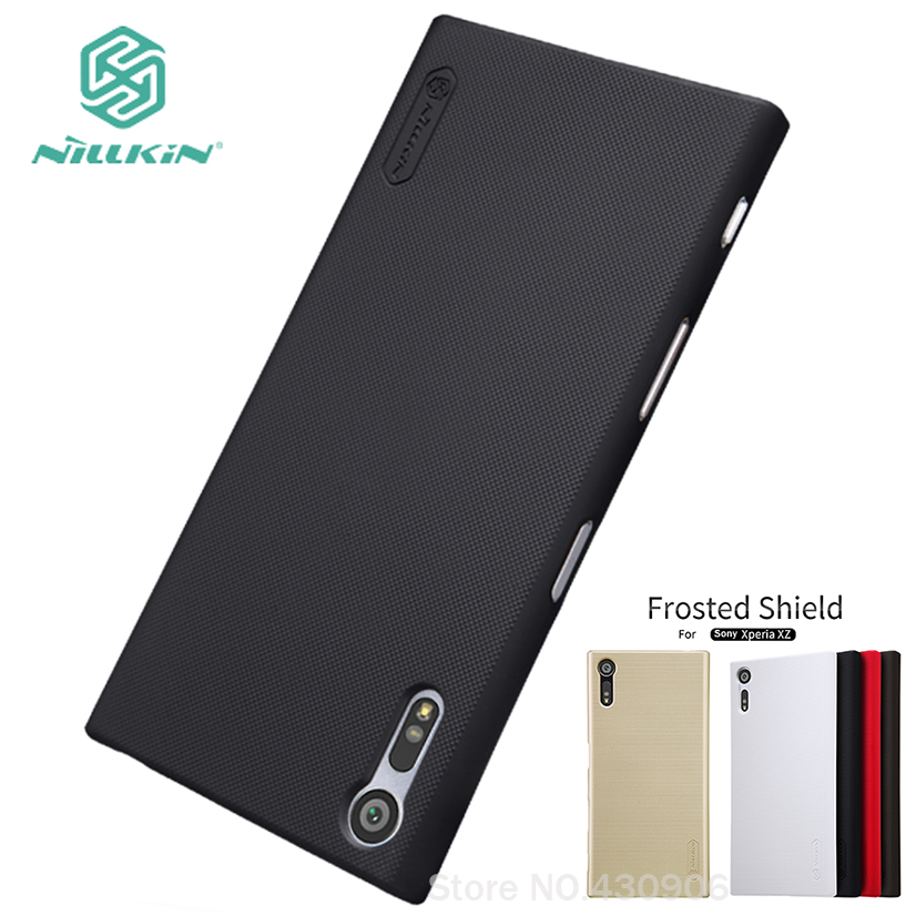 For Sony Xperia XZ F8332 /Sony Xperia XZs G8232 Case Nillkin Cover Hight Quality Super Frosted Shield +Screen Protector
