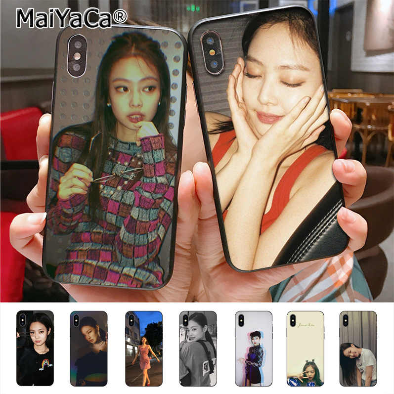 MaiYaCa Blackpink Jennie โทรศัพท์สำหรับ iphone 11 Pro X 7 6 6 7 7 8 8Plus 5 5S