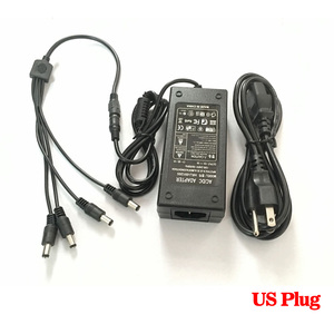 Image 5 - HKIXDISTE 12V 5A 4 Port CCTV Camera AC Adapter Power Supply Box For The CCTV Camera