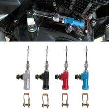 Pompe dembrayage hydraulique pour moto, maître cylindre tiges, pompe de frein m10 x 1.25mm, haute qualité, en aluminium, 1 pièce