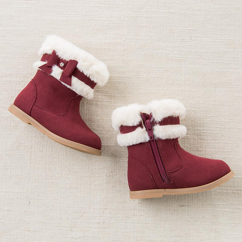 Dave Bella autumn winter babay girl snow boots fasion boots brand shoes DB5537