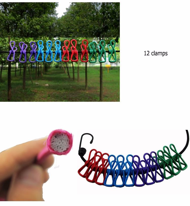 Portable-Travel-Stretchy-Clothesline-Outdoor-Camping-Windproof-Clothes-Line-with-12-Clamp-Clip-Hooks-Travel-Kit (4)