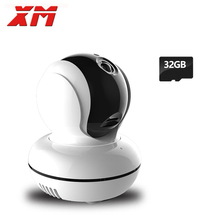 High Quality 1080P 2.0MP IP Camera+32GB Card Pan/Tilt  Night Vision Security Camera ONVIF P2P CCTV Cam with IR-Cut Baby Monitor