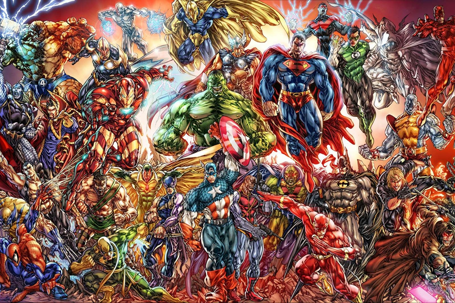 Comics universe gdr