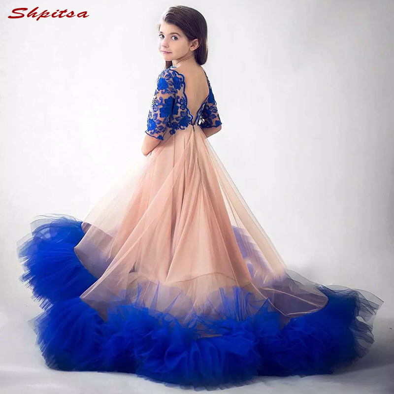 Flower Girl Dresses for Wedding Weddings Party Flowergirl Pageant First Communion Dresses for Girls 2018