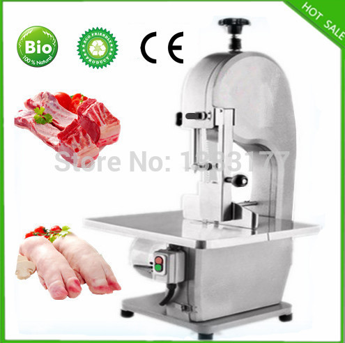 18 free shipping automatic meat bone slicer electric meat bone saw machine commercial frozen meat slicer prediction of bone length from bone fragments