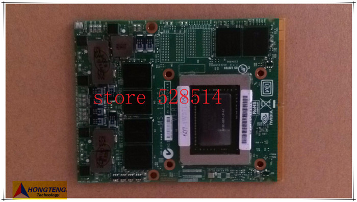 MS-1W051 GTX670M Graphics board  FOR MSI Notebook GT60 GT70 GT780 100% Work Perfect and 3D test ok
