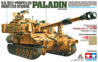 1/35 SCALE U.S. SELF PROPELLED HOWITZE M109A6 PALADIN (IRAQ WAR) 37026