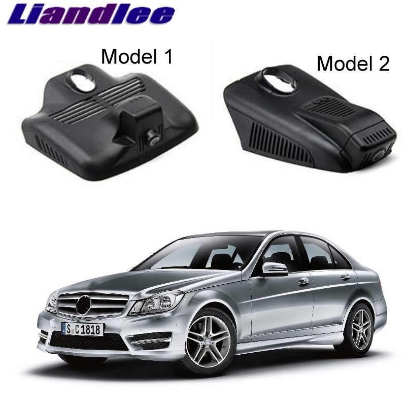 Liandlee For Mercedes Benz C MB W204 2007~2014 Car Black Box WiFi DVR Dash Camera Driving Video Recorder цена