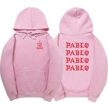 Purpose Tour я чувствую, что Пабло толстовки Полерон Hombre модный свитер пуловер для мужчин и женщин толстовка с капюшоном Мужские толстовки