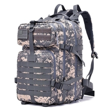 50L Military Tactical Assault Pack Backpack Army 3D Waterproof Bug Out Bag Small Rucksack for Outdoor Hiking Camping Memburu