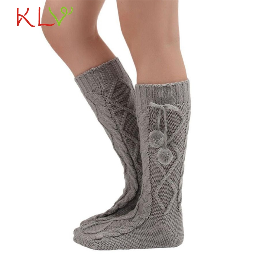 2017 Hot Sale winter warm thick sock New casual fashion Korean solid colors  socks free boot 740134e7503a