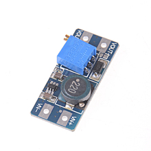 цена на 1 Pcs MT3608 DC-DC Boost Module 2A Adjustable Step Up Module Boost Converter Power Supply Module 2V - 24V To 5V 9V 12V 28V