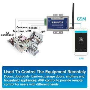 Image 3 - RTU5024 GSM Cổng Dụng Cụ Mở Tiếp Công Tắc Điều Khiển Từ Xa Không Dây Mở Cửa Với 300 Cm Ăng Ten Cho Đỗ Xe Hệ Thống Tự Do cuộc Gọi