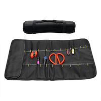 Multifunction Car Storage Bag Folding Portable Red Oxford Fabric Trunk Bags Tool Organizer Bag Stowing Tidying