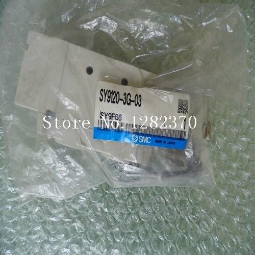 [SA] New Japan genuine original SMC solenoid valve SY9120-3G-03 spot --2PCS/LOT[SA] New Japan genuine original SMC solenoid valve SY9120-3G-03 spot --2PCS/LOT
