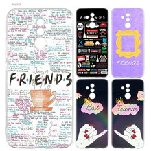 YAETEE Best Friends BFF Silicone Case For Huawei Honor 8 9 lite Y5 Y6 2017 Phone Back Cover Soft TPU Printed Coque Shell(China)