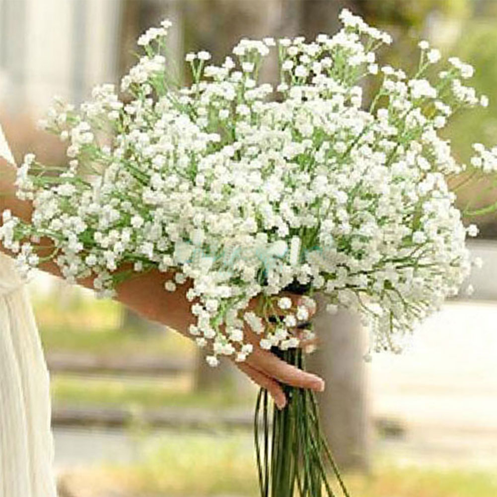Aliexpress buy 3pcs elegant artificial babys breath aliexpress buy 3pcs elegant artificial babys breath gypsophila white home room office decoration wedding party decor florals womens day gift from izmirmasajfo