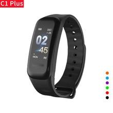 C1 Smart Bracelet fitness bracelet Dynamics Color Screen Waterproof Activity Heart Rate Monitor Blood Pressure Measurement