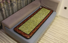 Good & Free shipping! Natural Green stone Jade cushion heated mat jade health care physical therapy mat
