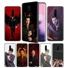American TV Lucifer Soft Black Silicone Case Cover for OnePlus 6 6T 7 Pro 5G Ultra-thin TPU Phone Back Protective