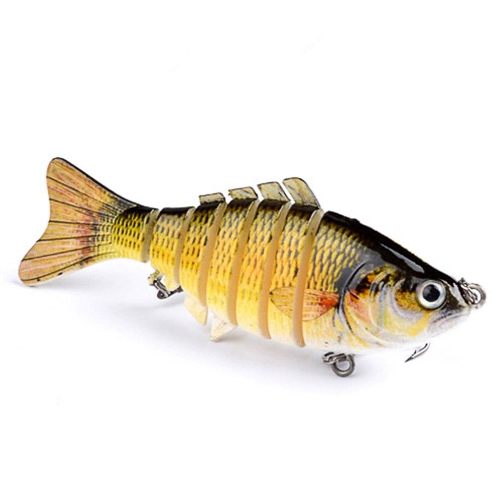1 buc 10cm 15.2g momeli de pescuit wobblers artificiale secțiuni cu - Pescuit - Fotografie 5