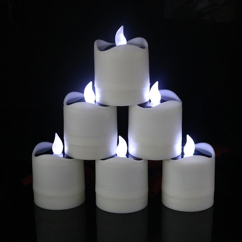 Luzes de Velas Cintilação Sem Chama Chá