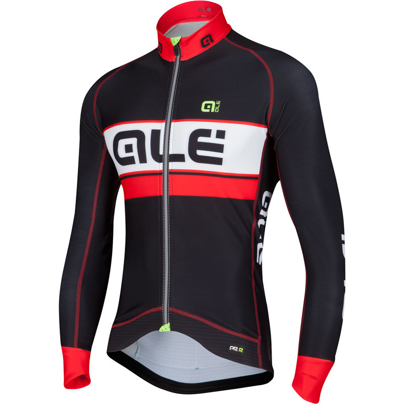 2018 ALE Cycling Jerseys Ropa Ciclismo Cycling Jersey Long Sleeve Sports Clothing Full Voyage Mondiale Bicycle long