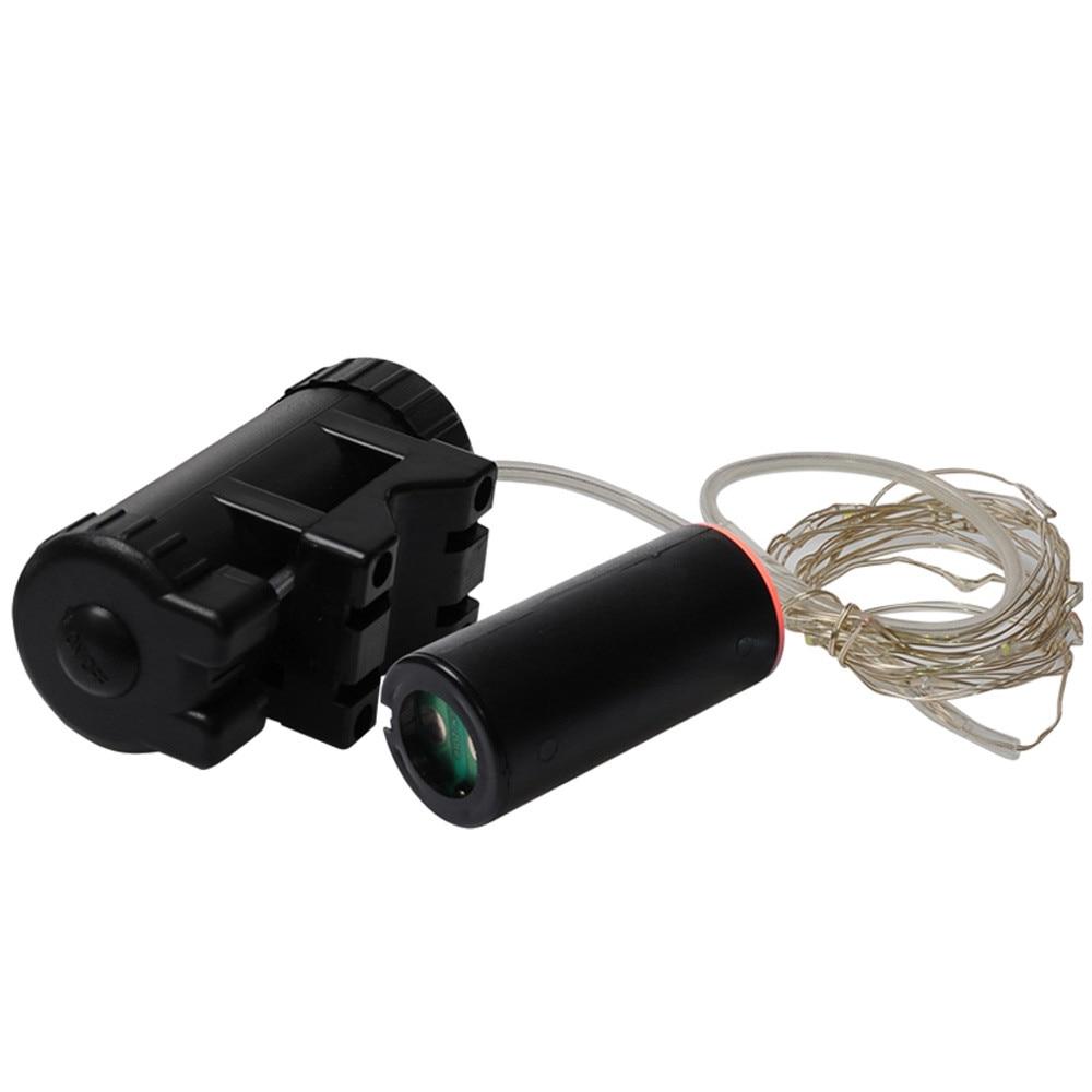 3.5cm colours Wheel Signal Tire Spoke LED Lights Waterproof Cycling USB rechargeable 220cm Rear Lights AP0816