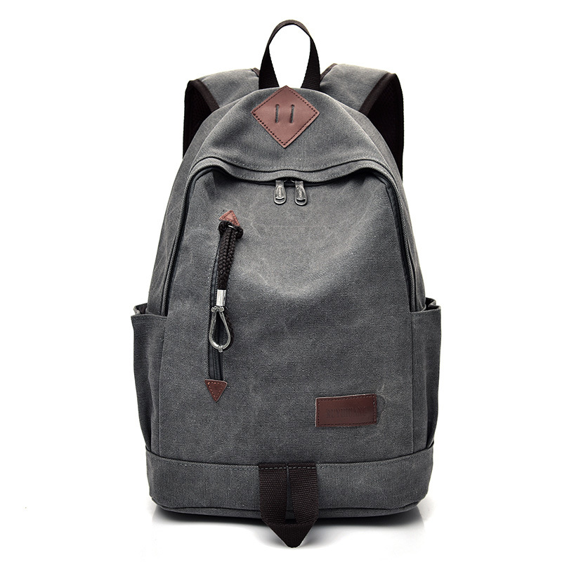 Big Canvas Backpack Man High Quality Large Leisure Multifunction Back Pack Men Bagpack Laptop 2019 New School Bag Backbag Male