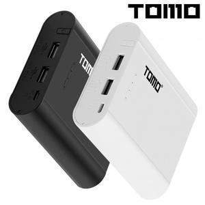 Image 1 - טומו P4 USB ליתיום אינטליגנטי סוללה מטען DIY נייד כוח בנק מקרה תמיכה 4x18650 סוללות ויציאות טלפון