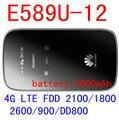 Разблокирована Huawei E589 E589u-12 LTE 4 г беспроводной маршрутизатор Точка 4 г lte мифи ключ беспроводной карманный wi-fi маршрутизатор пк e5372 e5776 b593