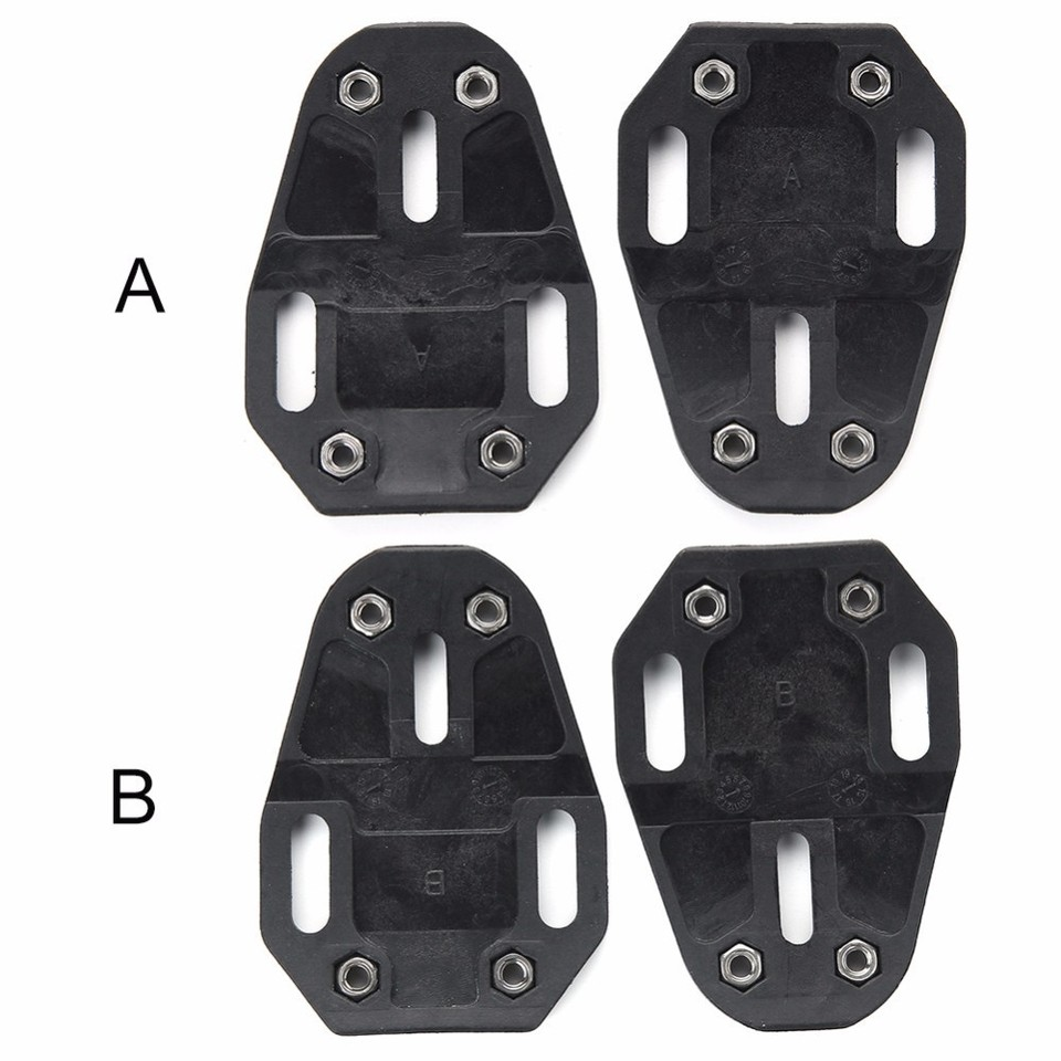 X2 Bike Pedal Cleats With Screw For Speedplay Zero Pave//Ultra Light Action X1