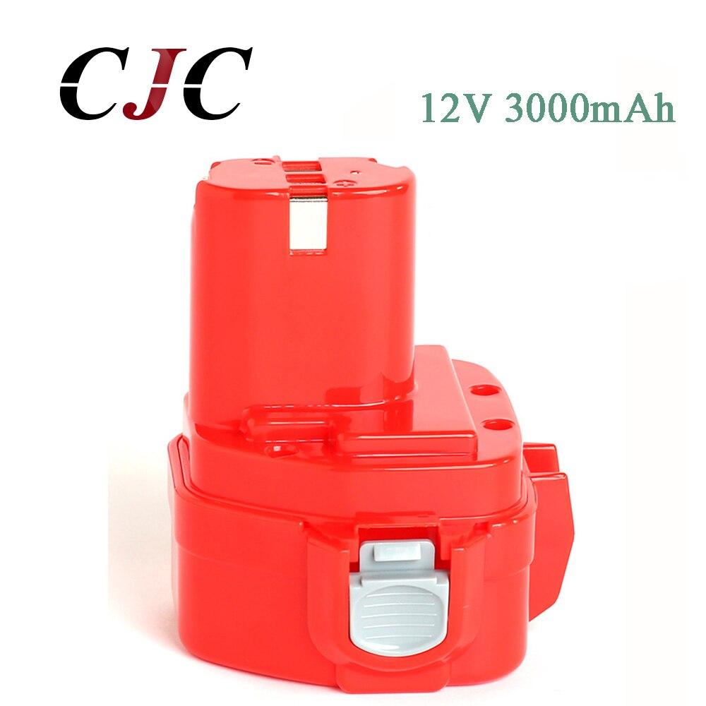 12V 3000mAh Ni-CD 3.0Ah Replacement Power Tool Battery for Makita 12V Battery PA12 1220 1233 1201 1222 1223 1235 12V 3000mAh Ni-CD 3.0Ah Replacement Power Tool Battery for Makita 12V Battery PA12 1220 1233 1201 1222 1223 1235