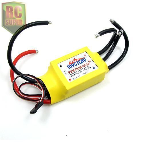 Hot New Mystery RC 200A 2-6s Brushless ESC W/Water for Boat V2.1 Model Ship Controller low price sell brushless esc for car boats rc model 50a brushless esc for boat with water cooling system brake xxd50a