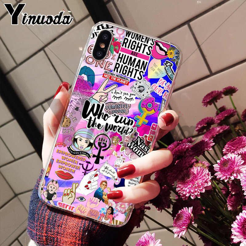 Yinuoda Tốt Rung Cảm You 'Re My Sunshine Siêu Mỏng Hoa Văn Hoạt Hình Lưng Ốp Lưng Điện Thoại Cho iPhone 8 7 6 6S Plus X XS Max 10 5 5S SE XR
