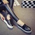 Best Selling Lady Shoes 3 Cores do Tamanho 35-39 PU Moda mulheres Sapatos Coreano Sapatos Casuais Projeto Do Crânio Da Menina Sapatos de Lazer ML2629